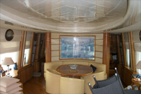 Painting the interior of the yacht