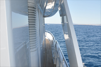High gloss yacht painting